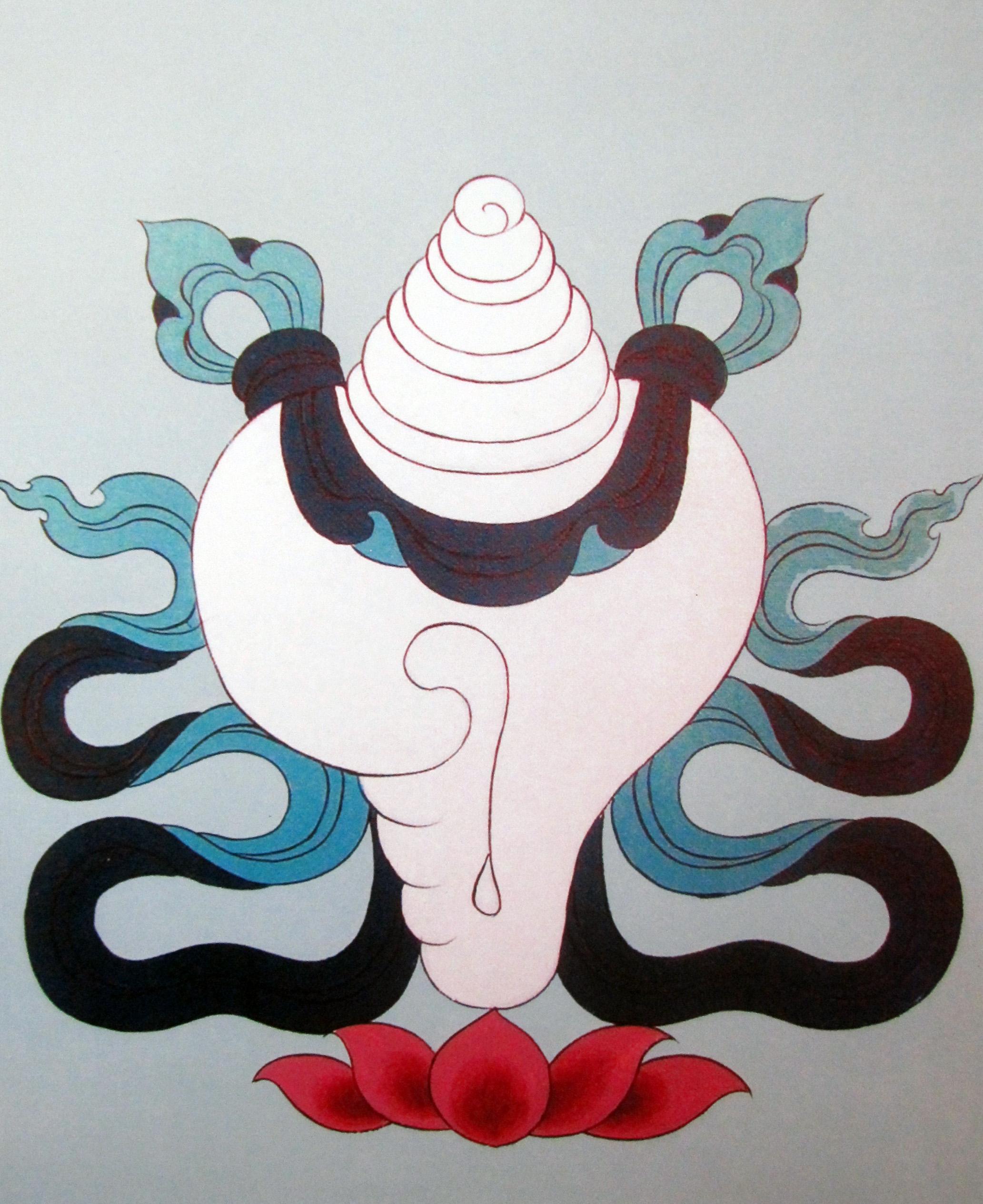 Yungdrung Bon Sacred Symbols Nine Ways