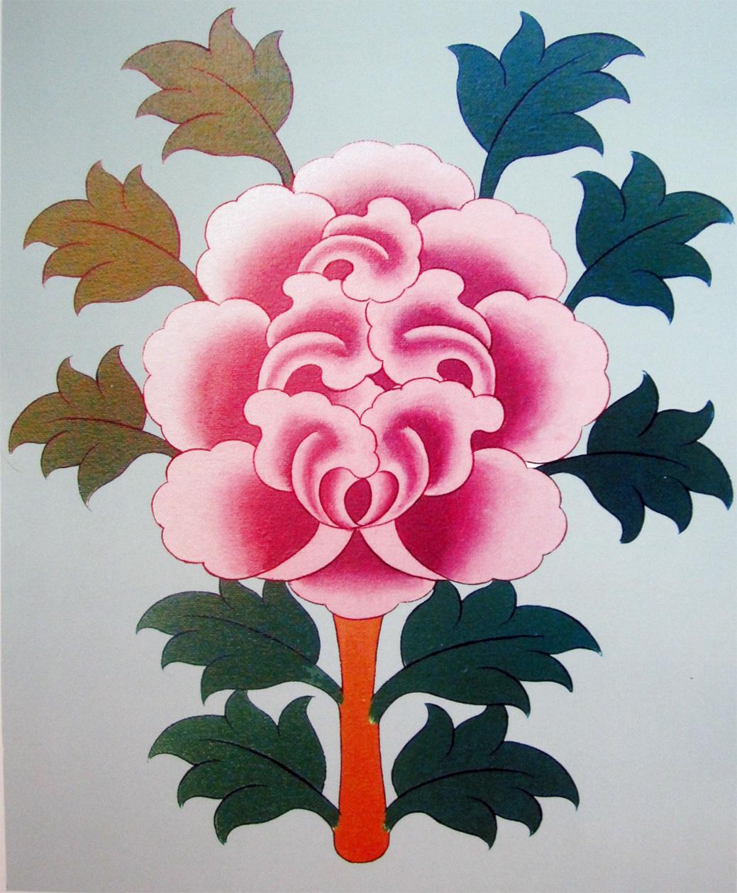 Lotus Tibetan Pma Nine Ways