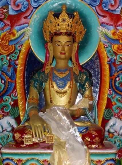Tonpa Miwoche statue smaller