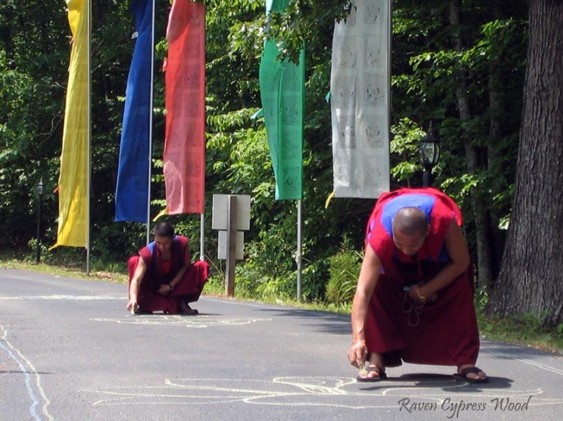 monks drawing 8 ausp