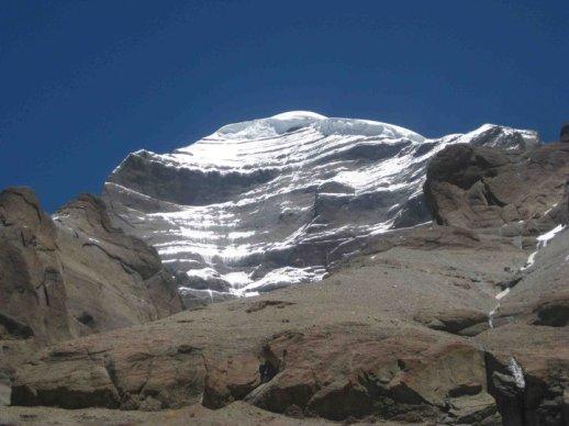 Mt Tise East face by Rikdzin lama