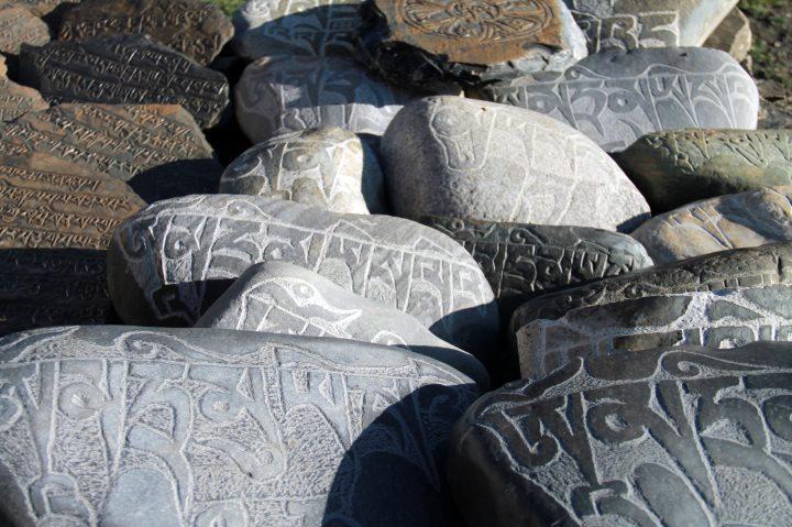 MA TRI stones in Dolpo