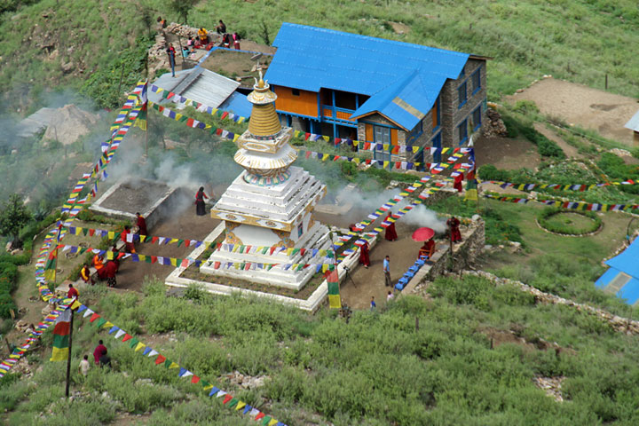 Dolpo-stupa-from-the-air-fo