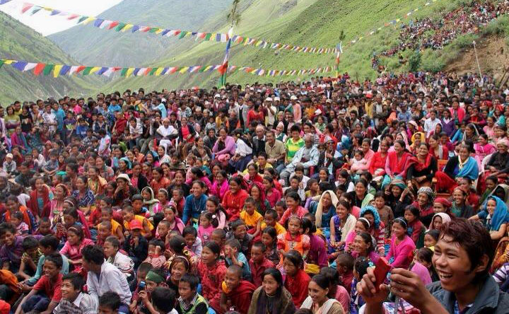Dolpo crowd