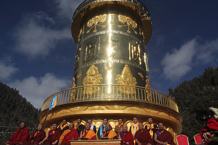 Gangru Dargye gompa in Tibet