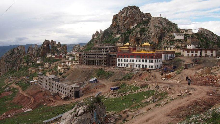 Khyungpo Riwo Tsedrug Bon Monastary in Khyungpo